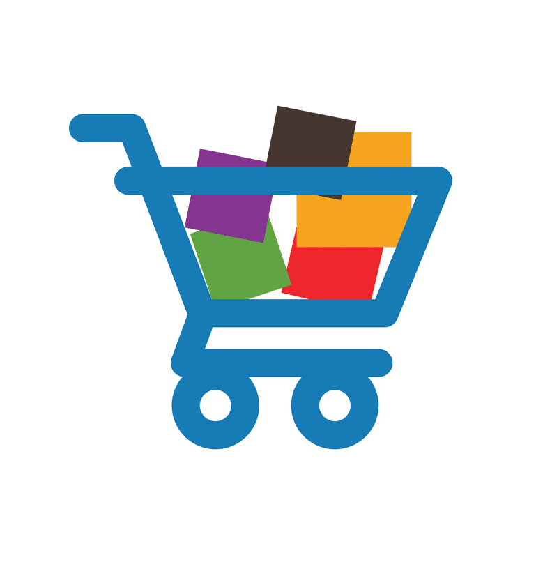 Shopping Cart clipart images