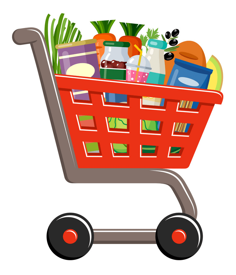 Shopping Cart clipart png free