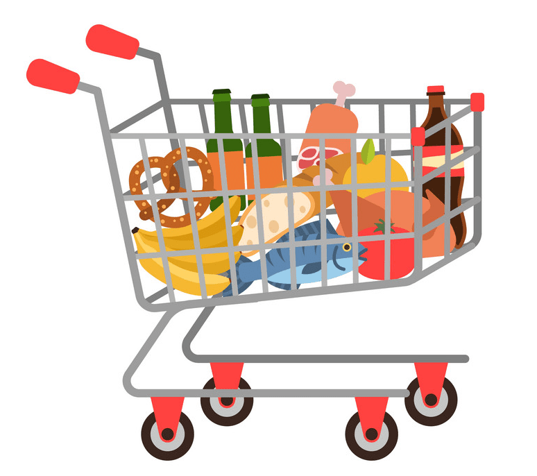 Shopping Cart clipart png picture