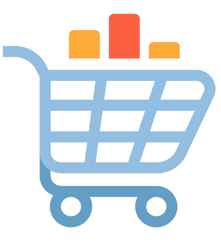 Shopping Cart clipart png