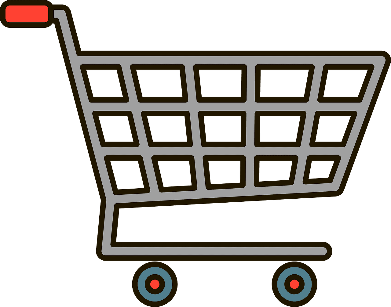 Shopping Cart clipart transparent 1
