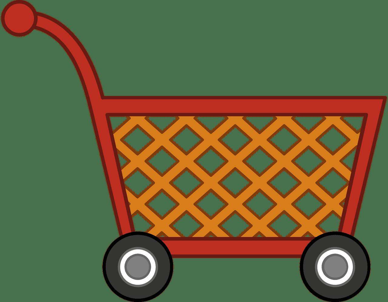 Shopping Cart clipart transparent 2