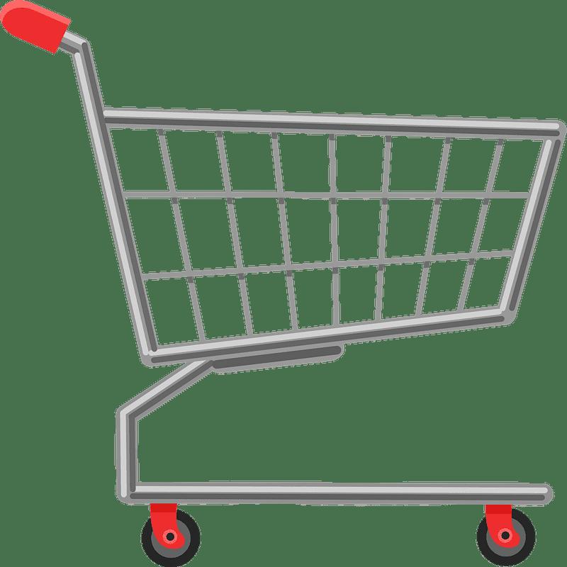 Shopping Cart clipart transparent 3