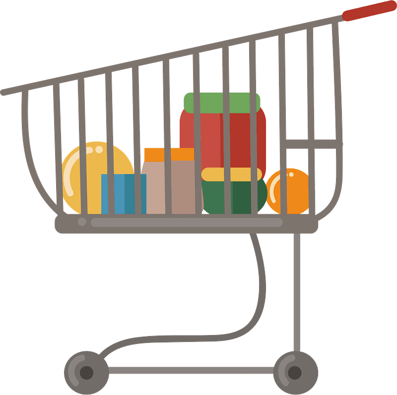 Shopping Cart clipart transparent 4