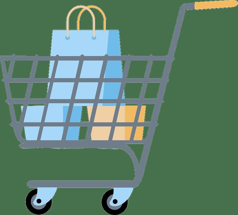 Shopping Cart clipart transparent