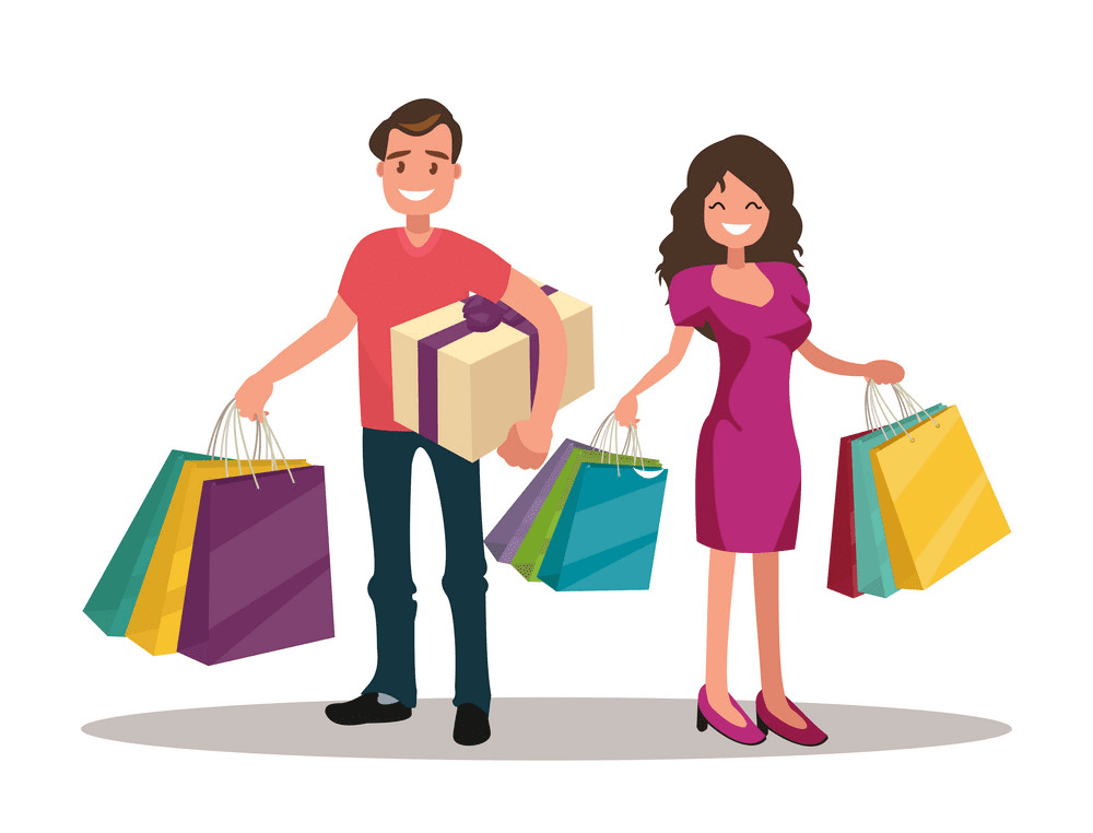 Shopping clipart for free