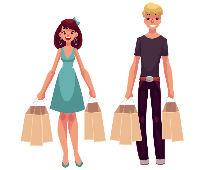 Shopping clipart free image