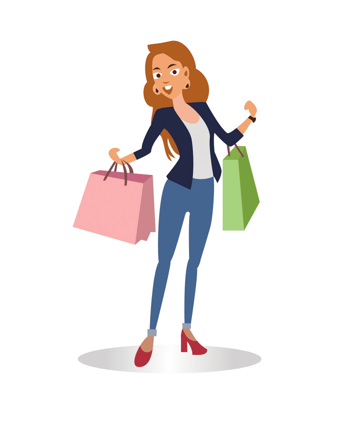 Shopping clipart free