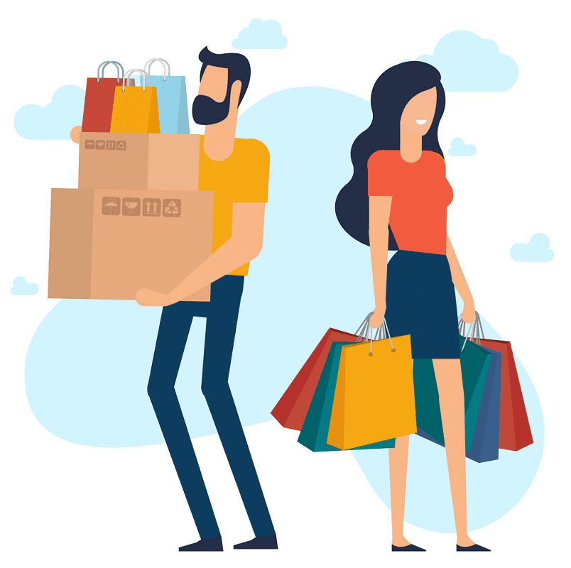 Shopping clipart image