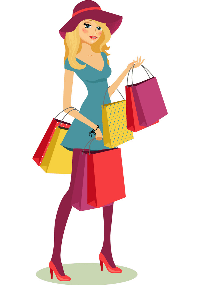 Shopping clipart images