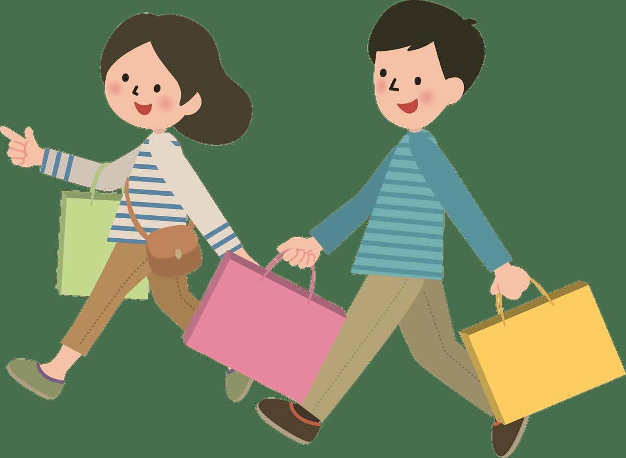 Shopping clipart transparent 7