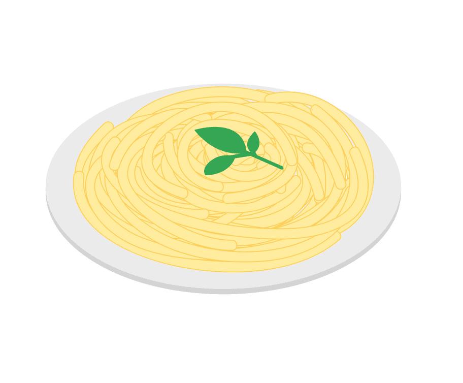 Spaghetti clipart 4