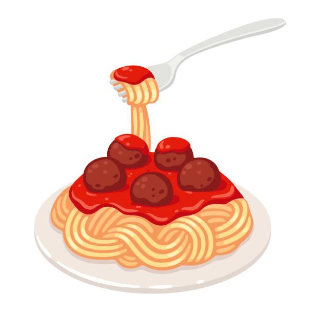 Spaghetti clipart 6