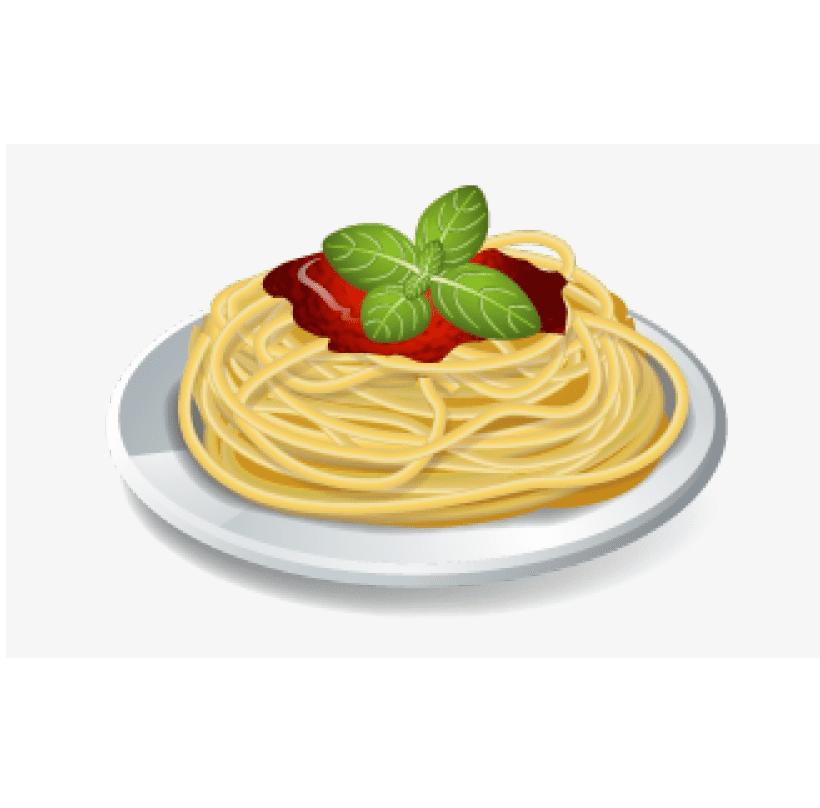 Spaghetti clipart 7