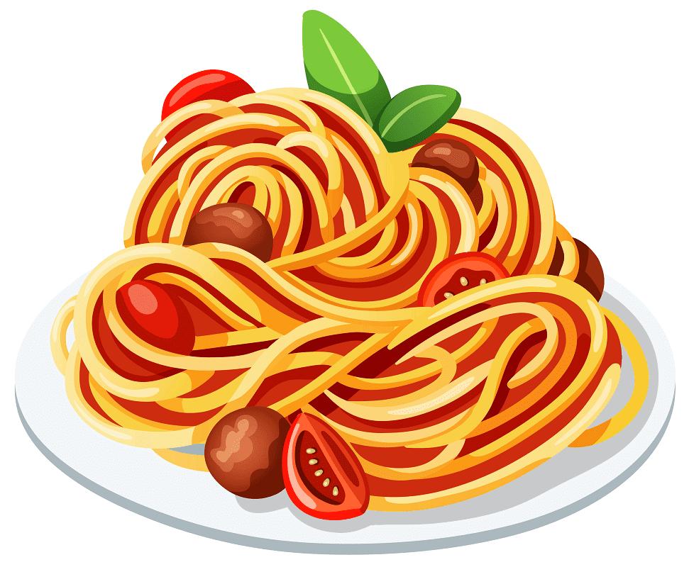 Spaghetti clipart 8
