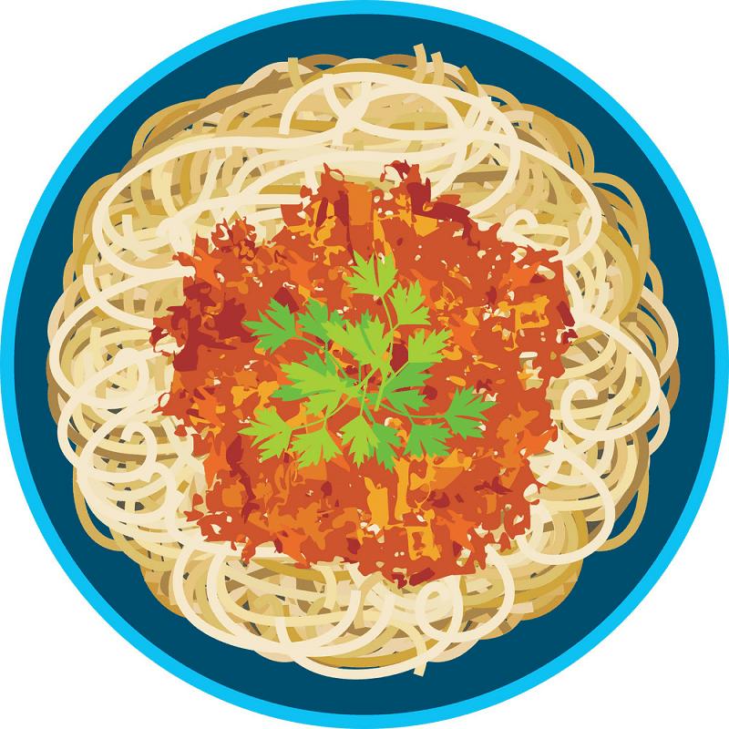 Spaghetti clipart download