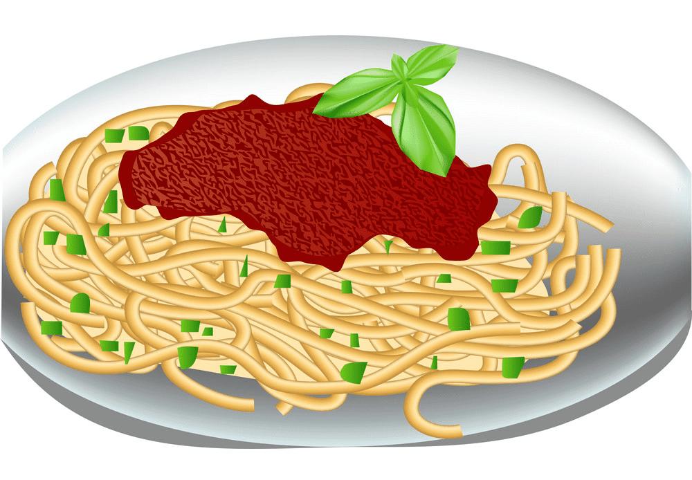 Spaghetti clipart for free