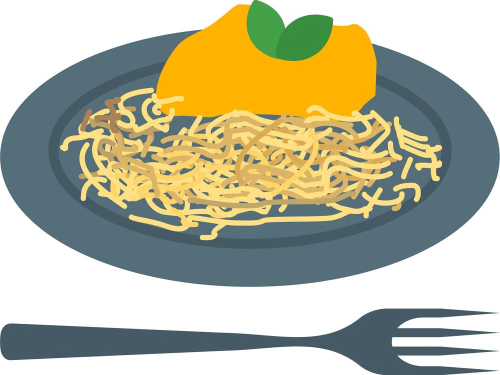 Spaghetti clipart free image