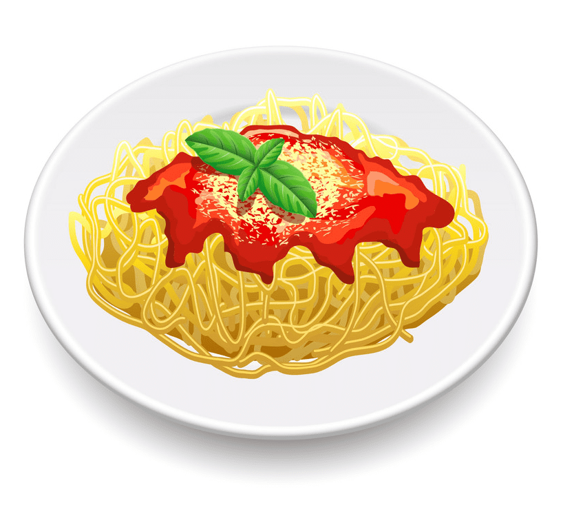 Spaghetti clipart free