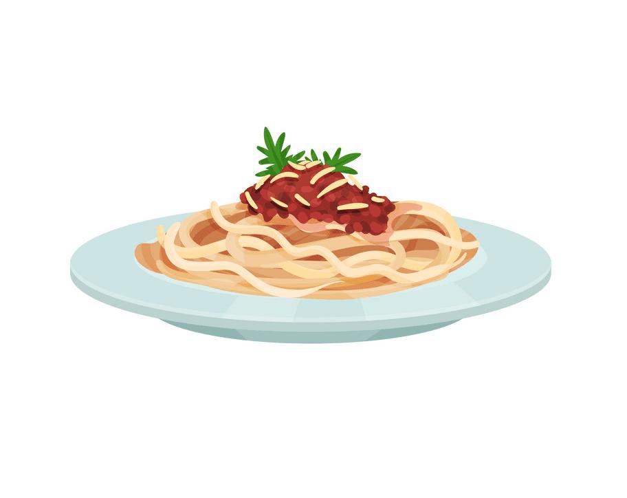 Spaghetti clipart image