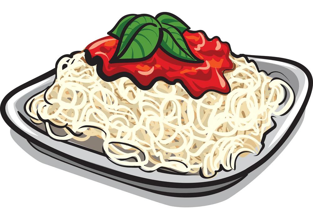 Spaghetti clipart picture