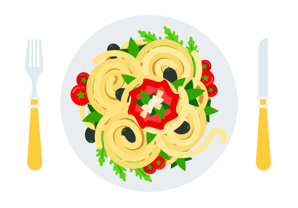 Spaghetti clipart png 10