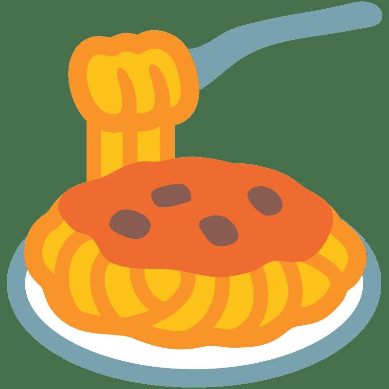 Spaghetti clipart transparent 13