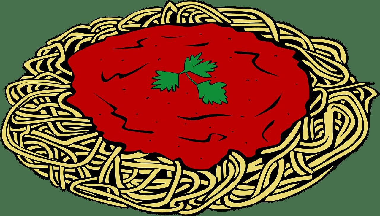 Spaghetti clipart transparent 3