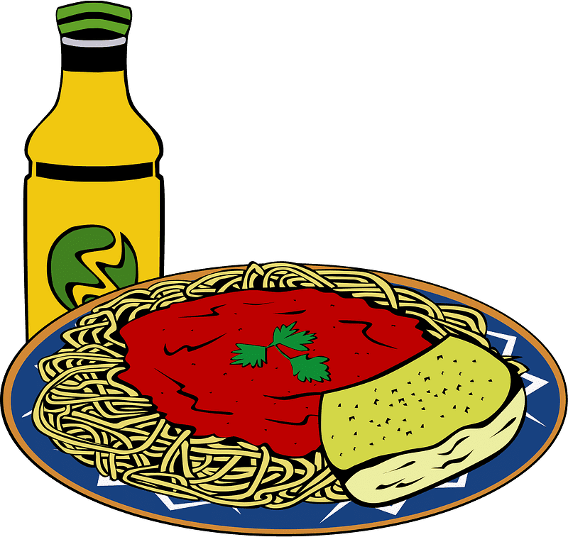 Spaghetti clipart transparent 5