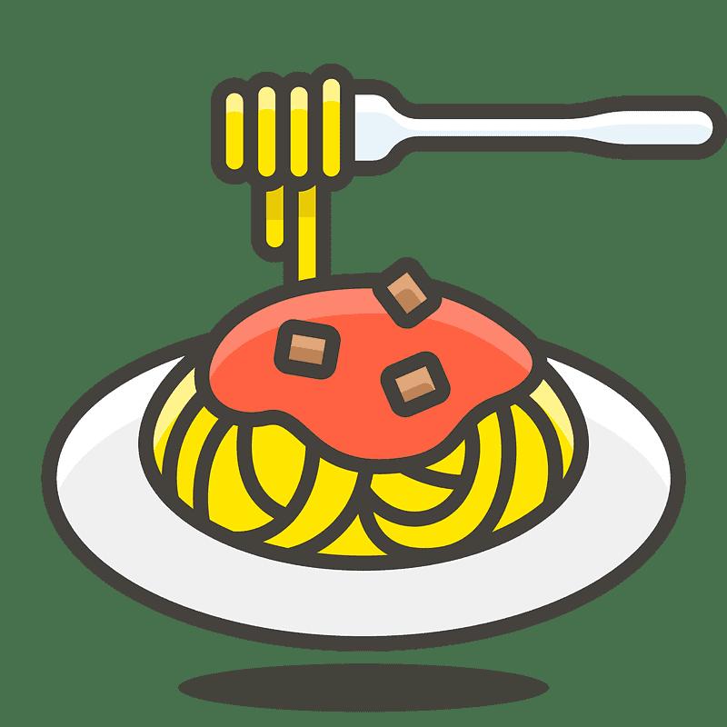 Spaghetti clipart transparent 9