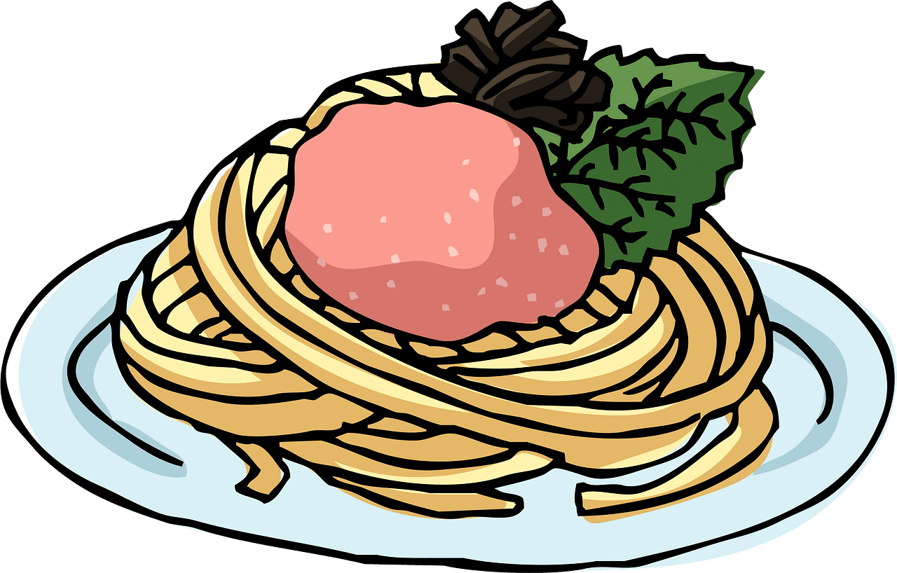 Spaghetti clipart transparent background 3