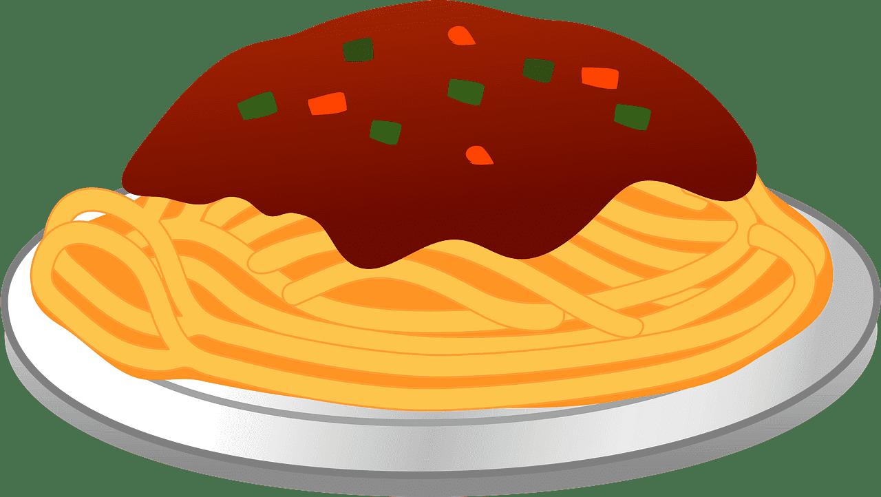 Spaghetti clipart transparent background 6