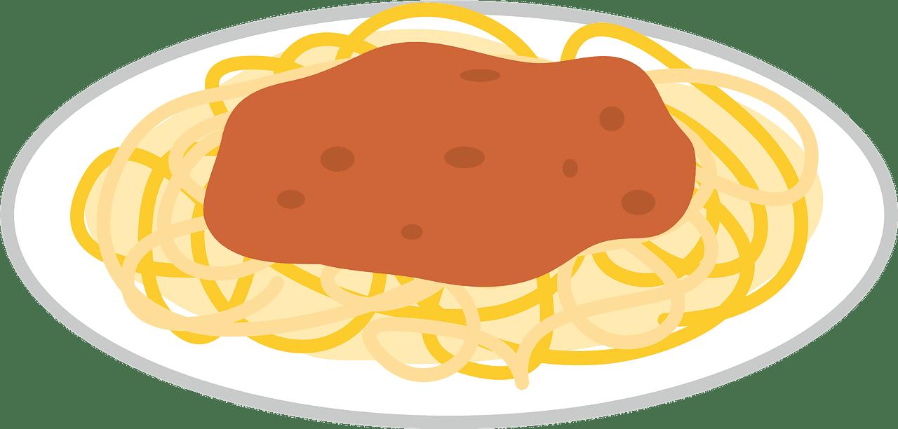 Spaghetti clipart transparent background 7
