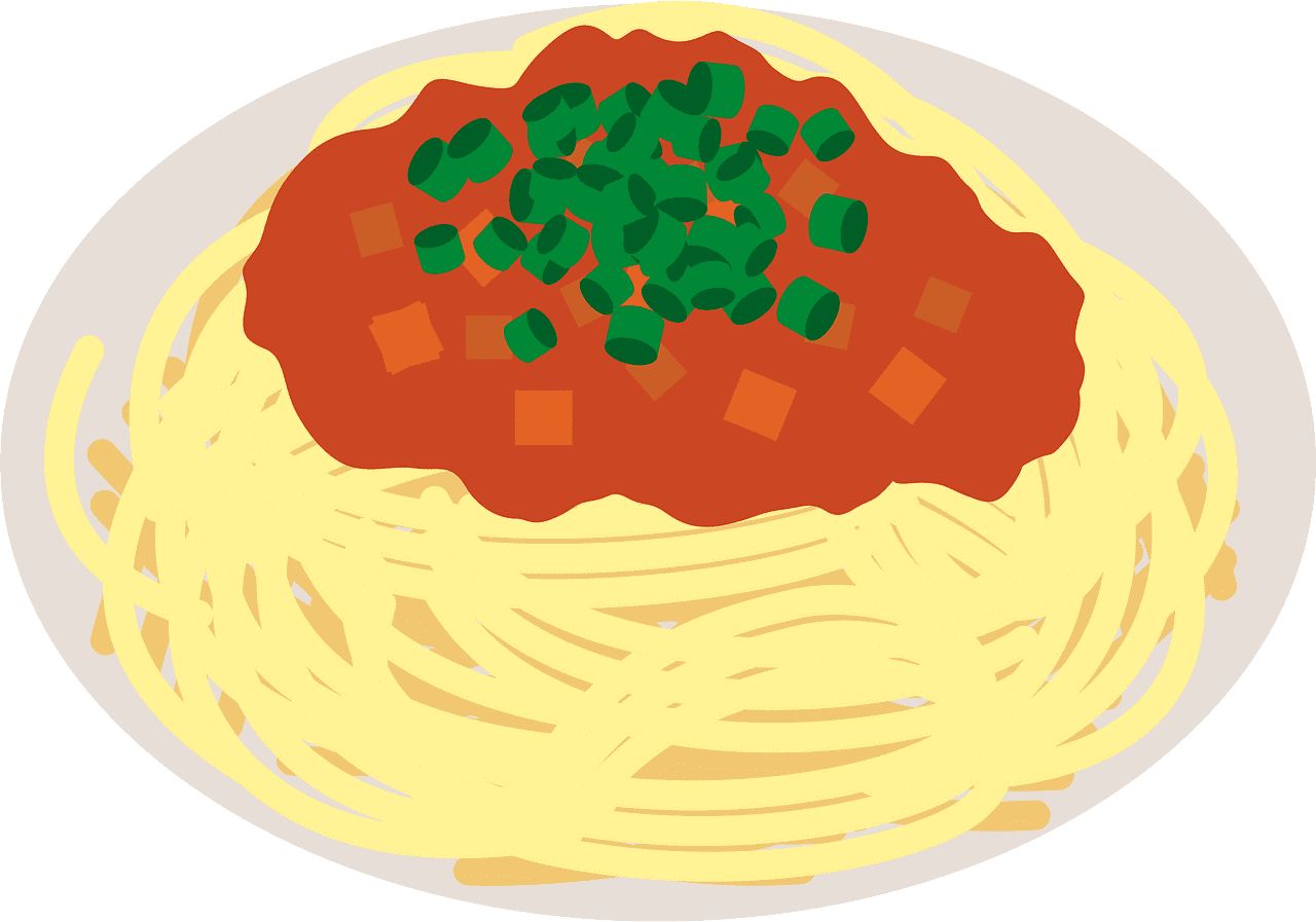 Spaghetti clipart transparent background 8