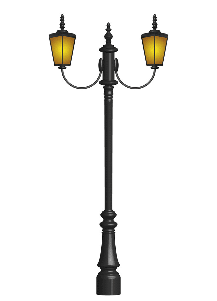 Street Lamp clipart for free