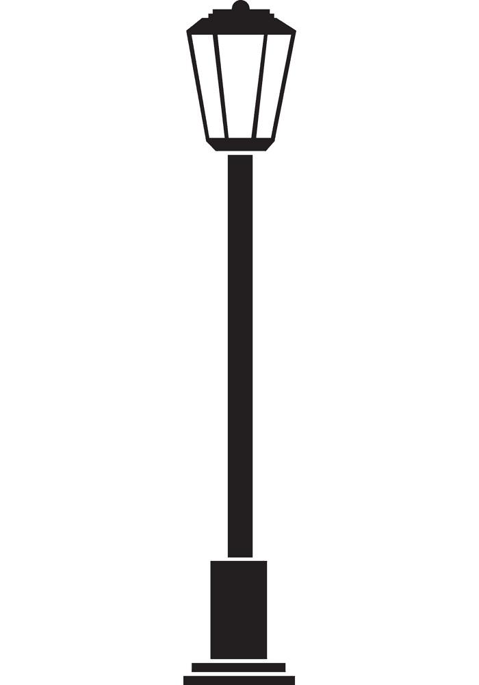 Street Lamp clipart for kids