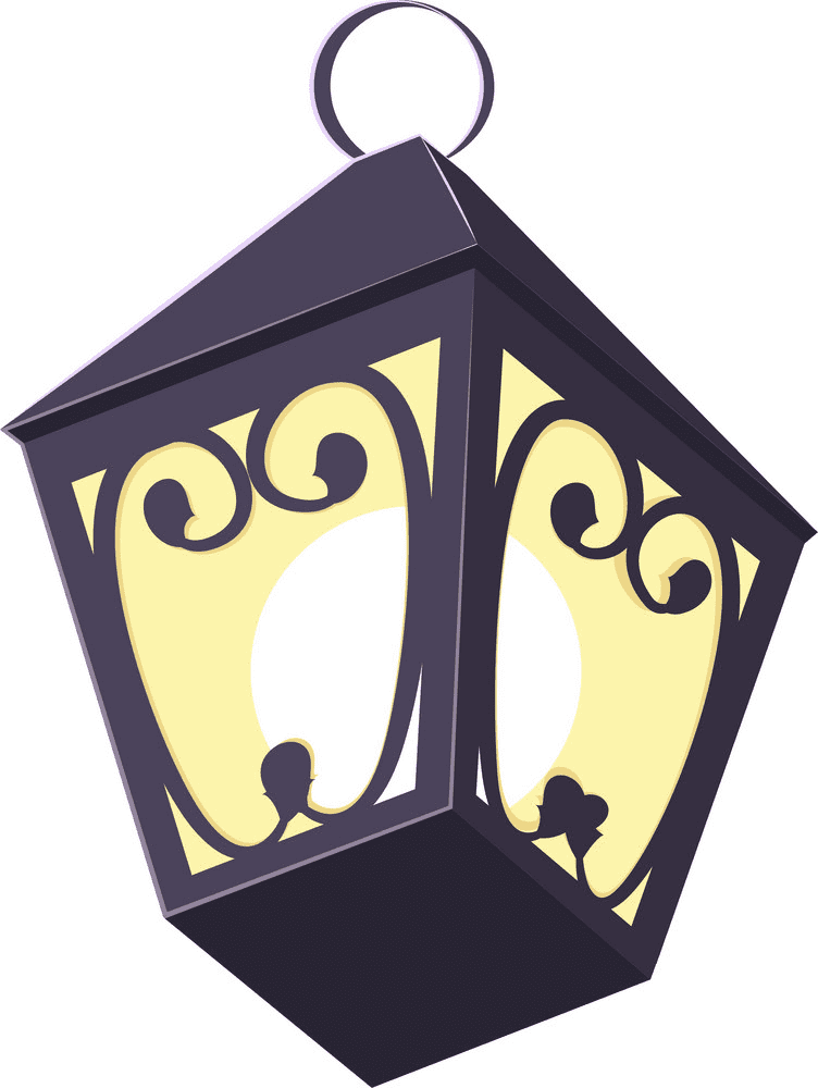 Street Lamp clipart free image