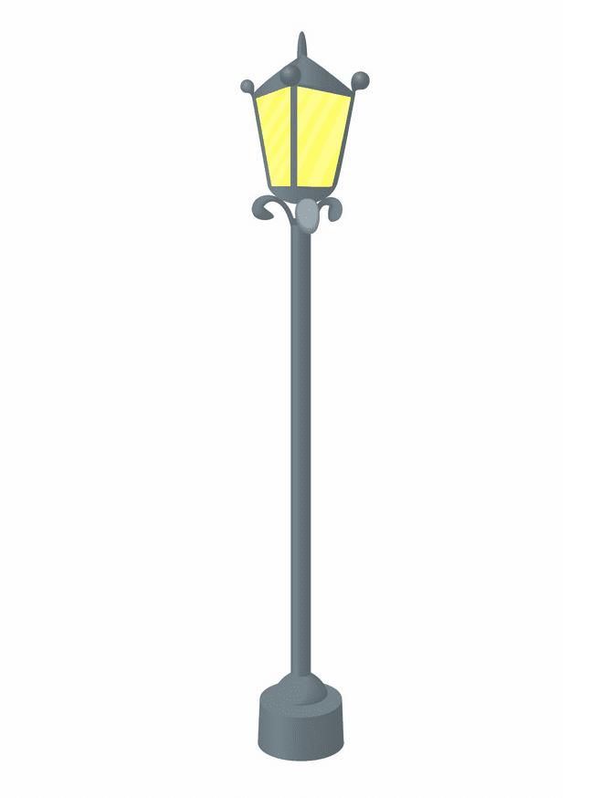 Street Lamp clipart free