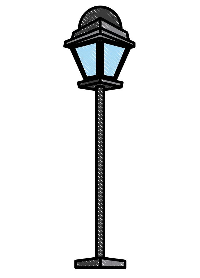 Street Lamp clipart image