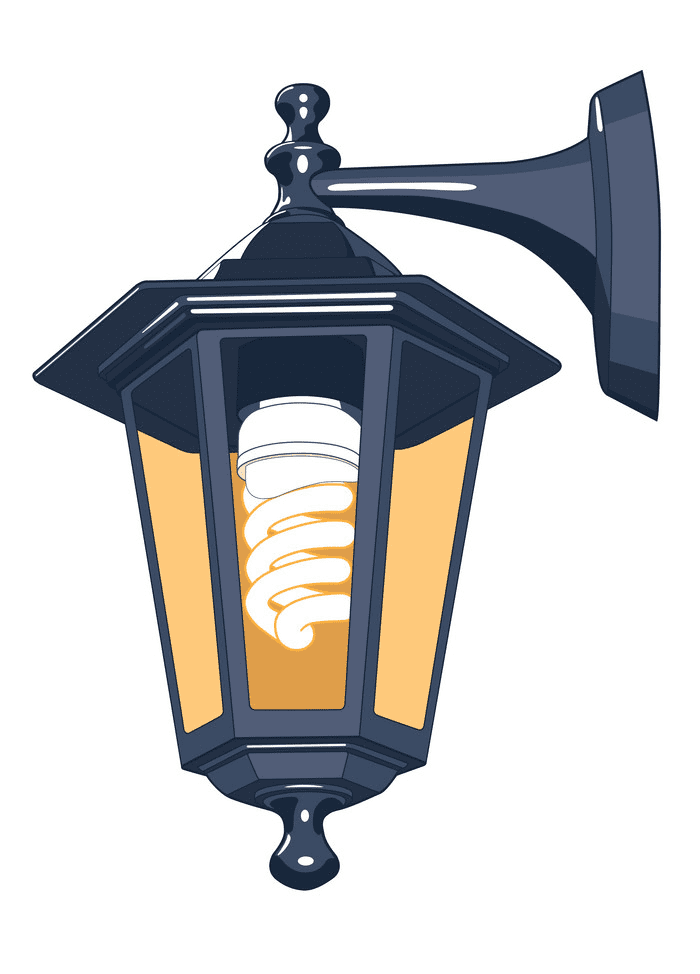 Street Lamp clipart png free