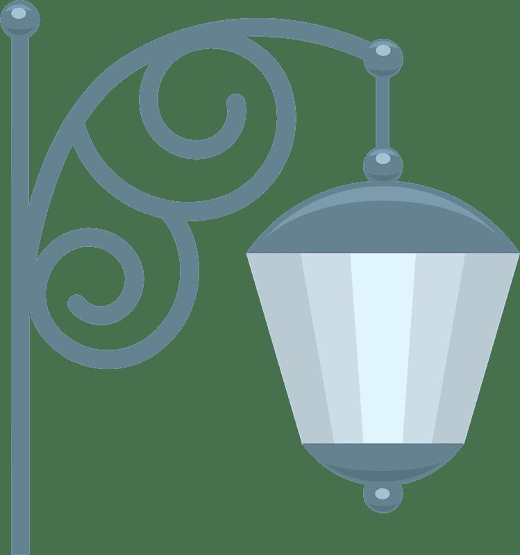 Street Lamp clipart transparent