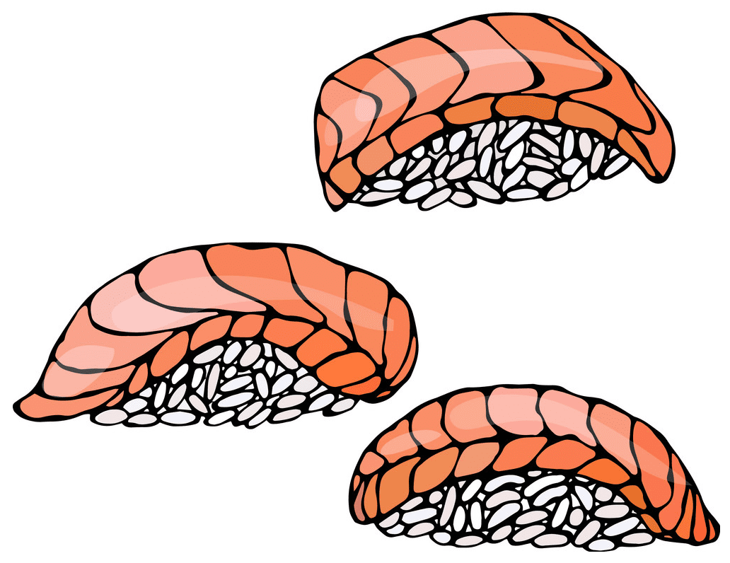 Sushi clipart 2