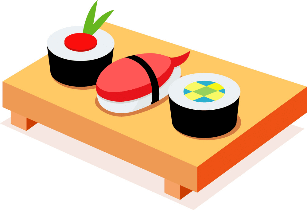 Sushi clipart for kid
