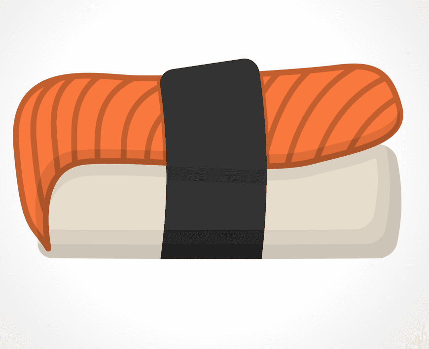 Sushi clipart free for kid