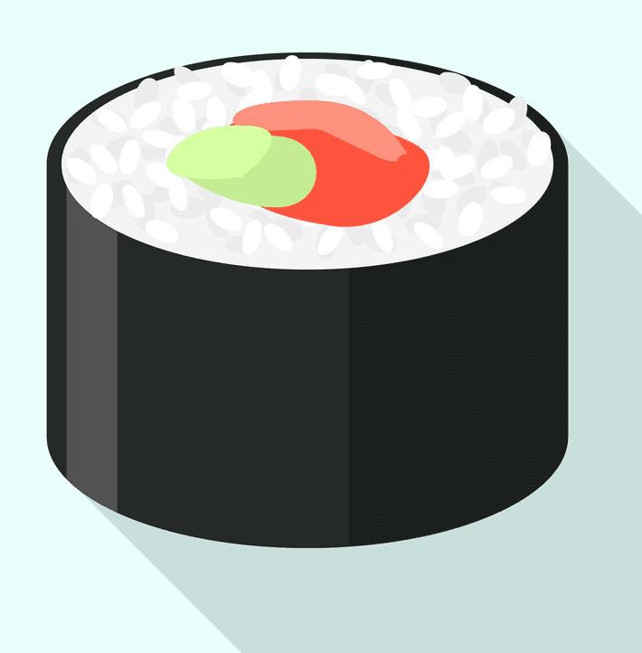 Sushi clipart free image