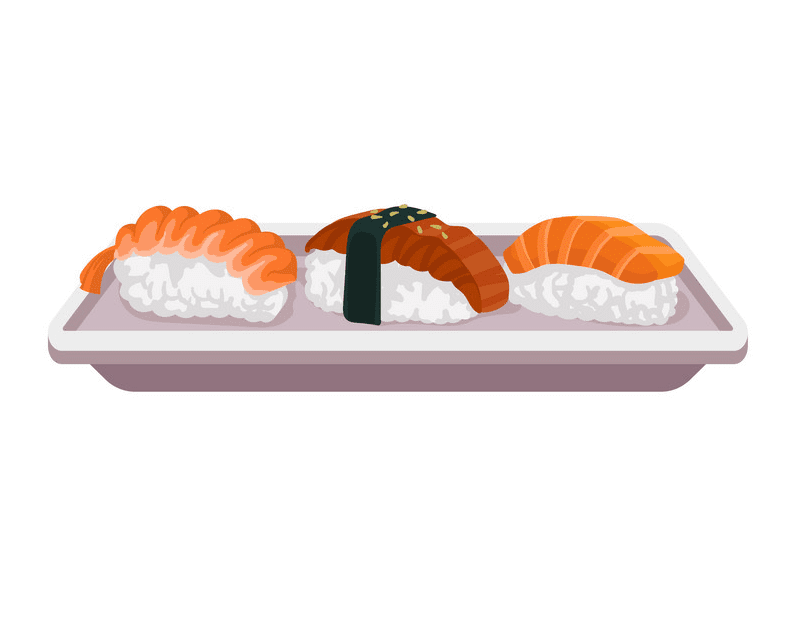 Sushi clipart free picture