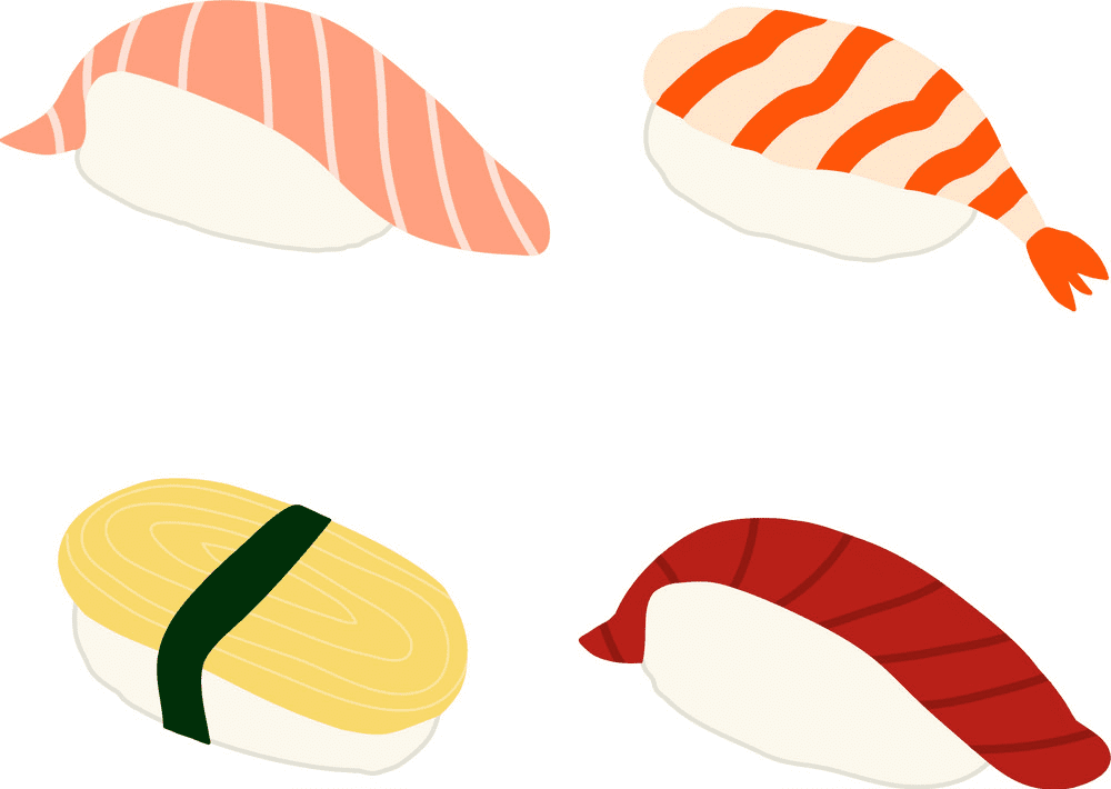 Sushi clipart png 2