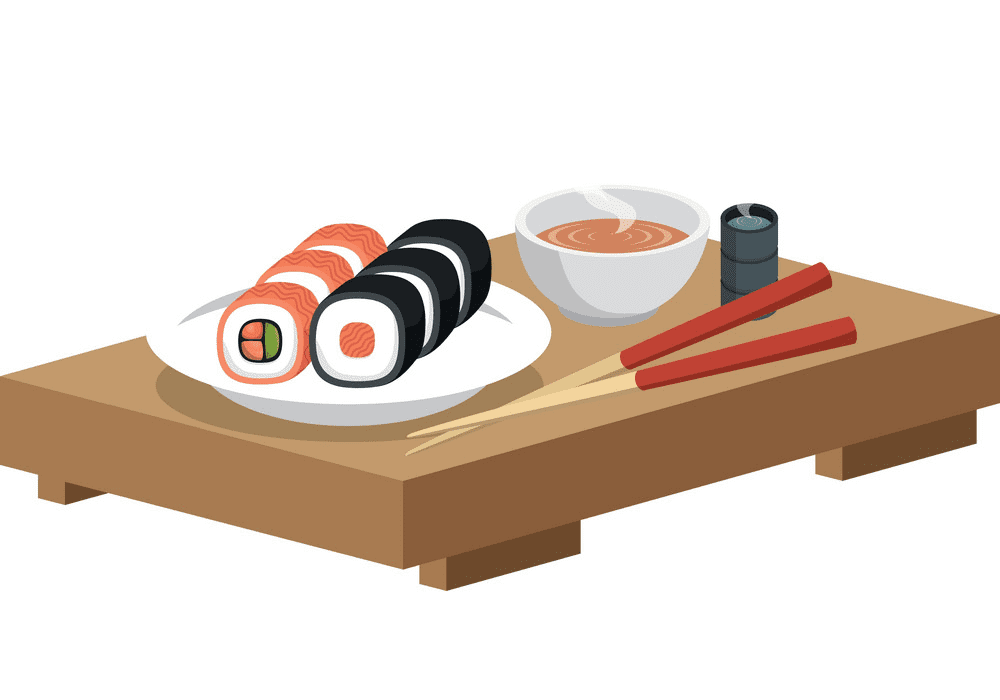 Sushi clipart png for kid