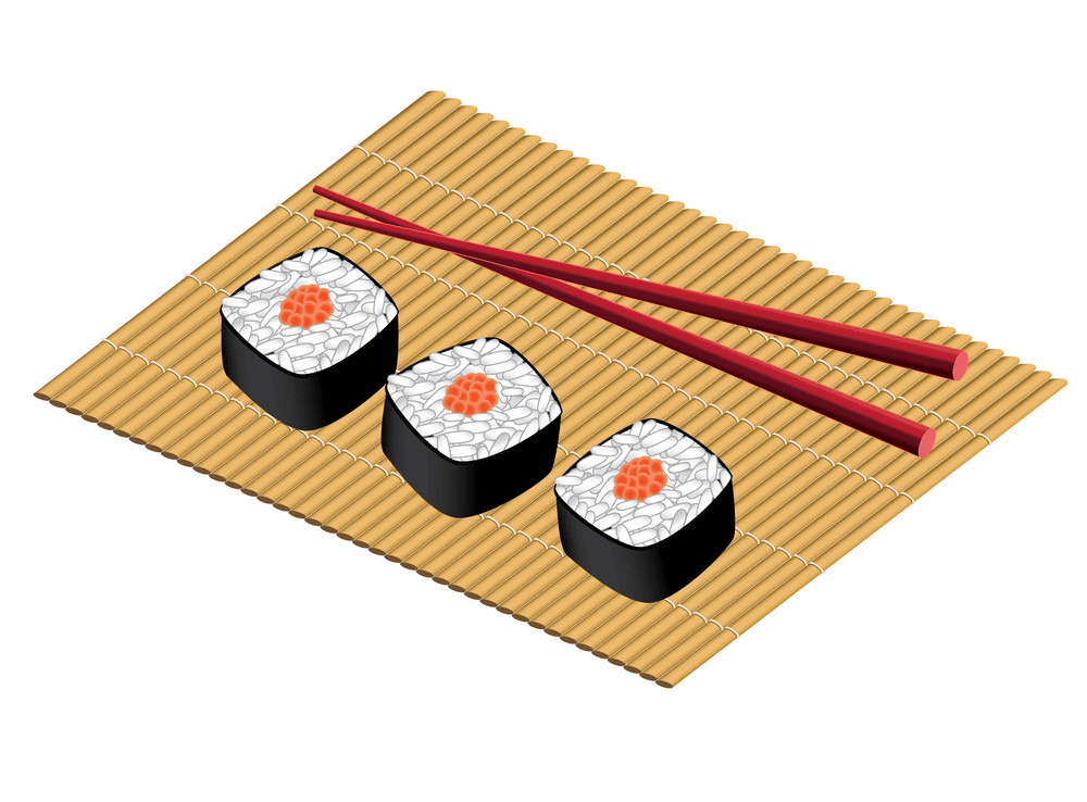 Sushi clipart png for kids