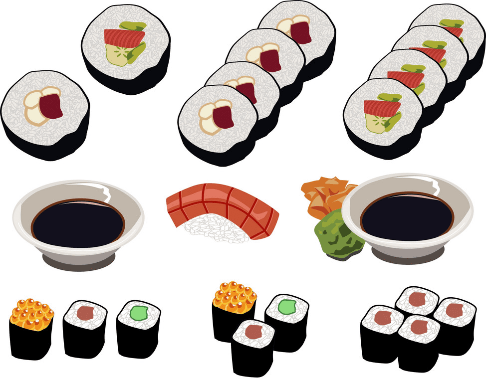 Sushi clipart png